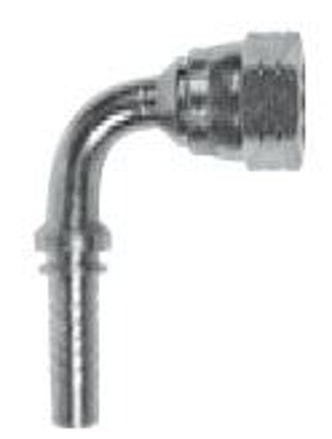 Raccordo idraulico 90° JIC