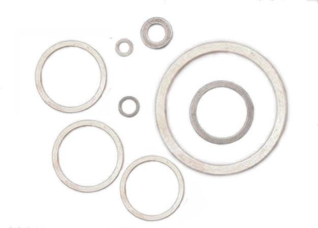 rondelle in alluminio