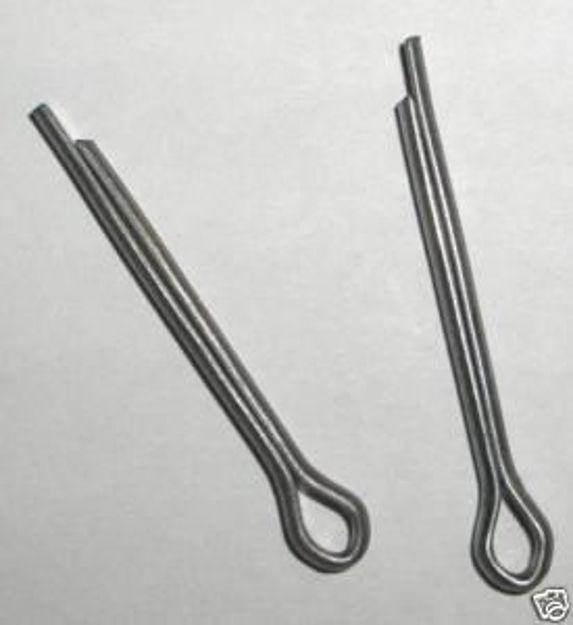 Coppiglie spaccate in acciaio