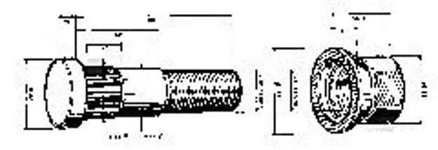 colonnetta anteriore per volvo F7
