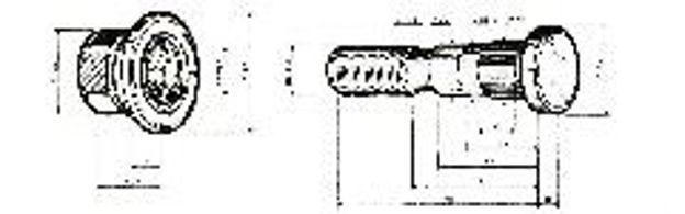 Colonnetta anteriore per ASTRA BM