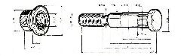 Colonnetta posteriore per ASTRA BM