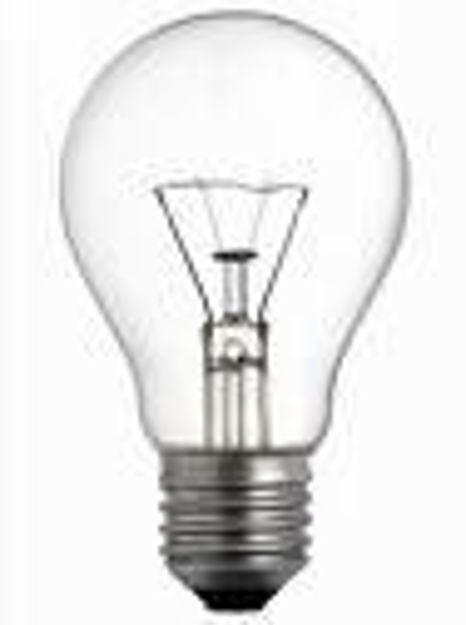 Lampadina per officina E27 60W