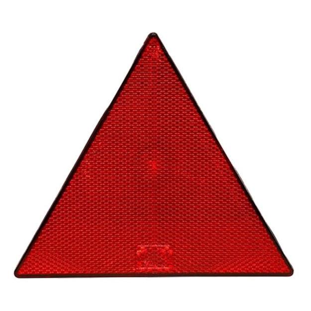 Catadiottro triangolare rosso