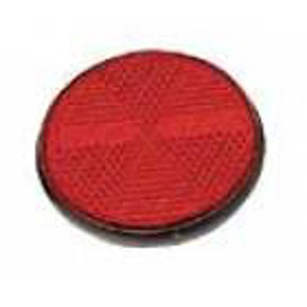 Catadiottro adesivo rosso