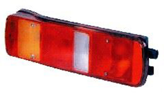 Fanale posteriore sinistro con luce targa per Volvo FH dal 2005