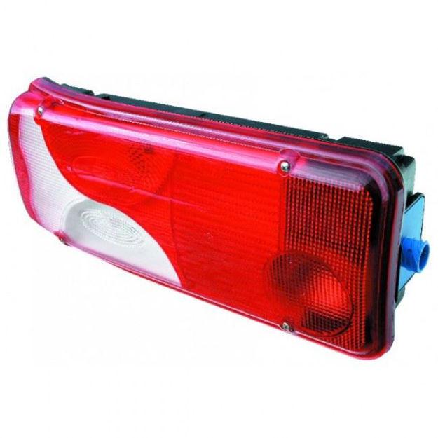 Fanale posteriore sinistro con luce targa per Scania CR