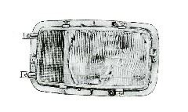 Vetro sinistro per proiettori Bosch