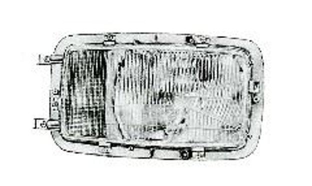Vetro destro per proiettori Bosch