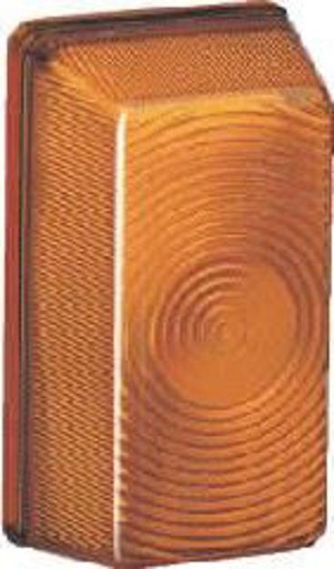 Plastica arancio per fanale d'ingombro laterale