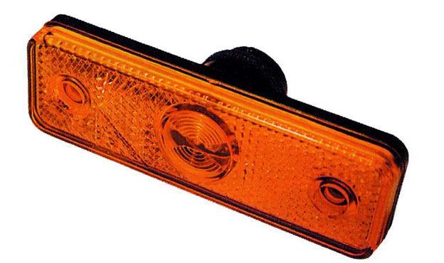 Fanale led arancio ASPOCK