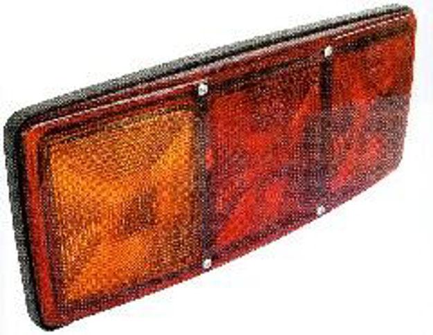 Fanale posteriore MERCEDES/IVECO con luce targa