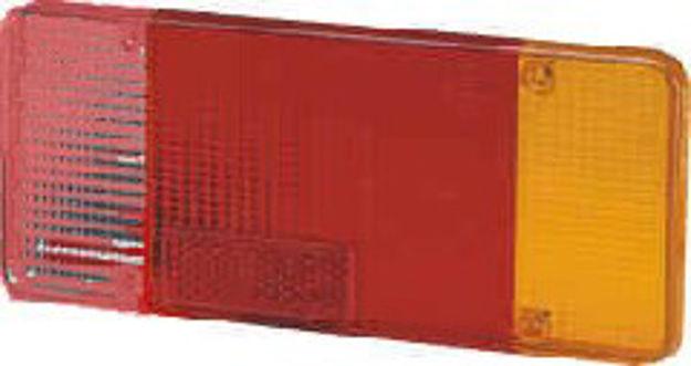 Immagine di Trasparente bianco/rosso/arancio sinistro Daily