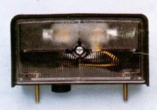 Fanale luce targa per Fiat