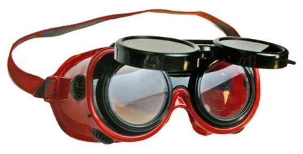 Occhiali di sicurezza per saldatori