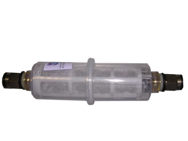Prefiltro gasolio ad  innesto rapido tubo diametro 10