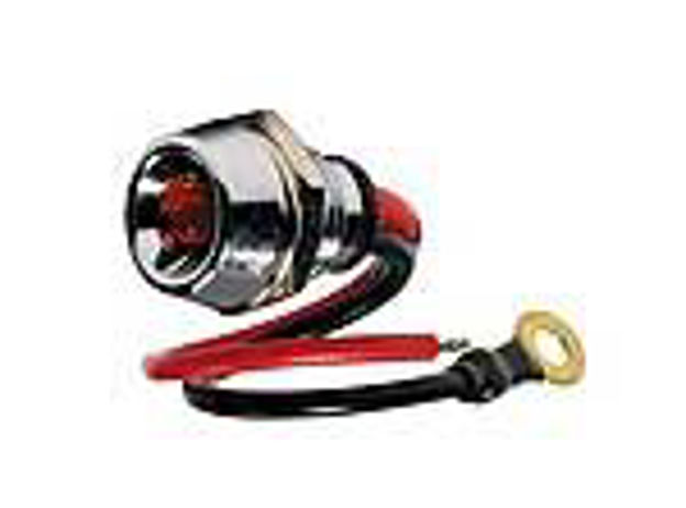 Led rosso luce fissa
