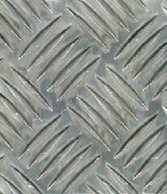 lamiera mandorlata in alluminio