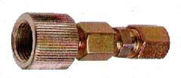 Raccordo 16x1.5 per tubo in rilsan 6x8