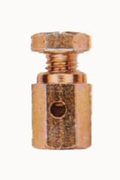 Spina cilindrica forata in acciaio
