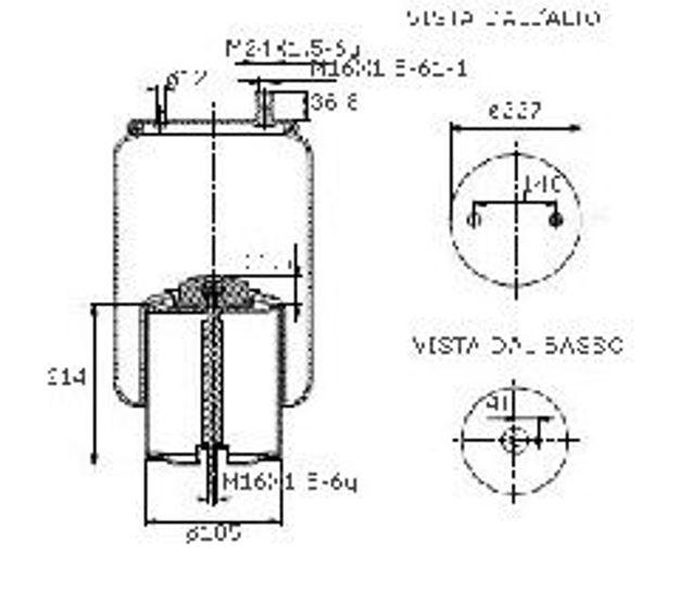 Molle ad aria per motrici e trattori per RENAULT V.I.