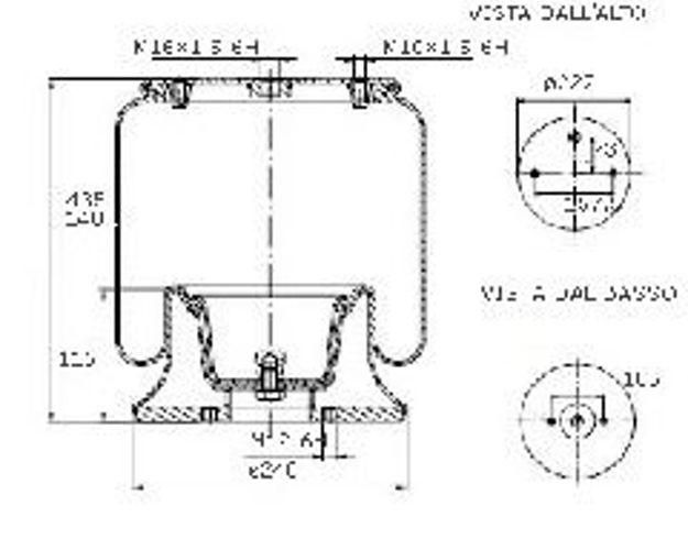 Molle ad aria per motrici e trattori SCANIA R