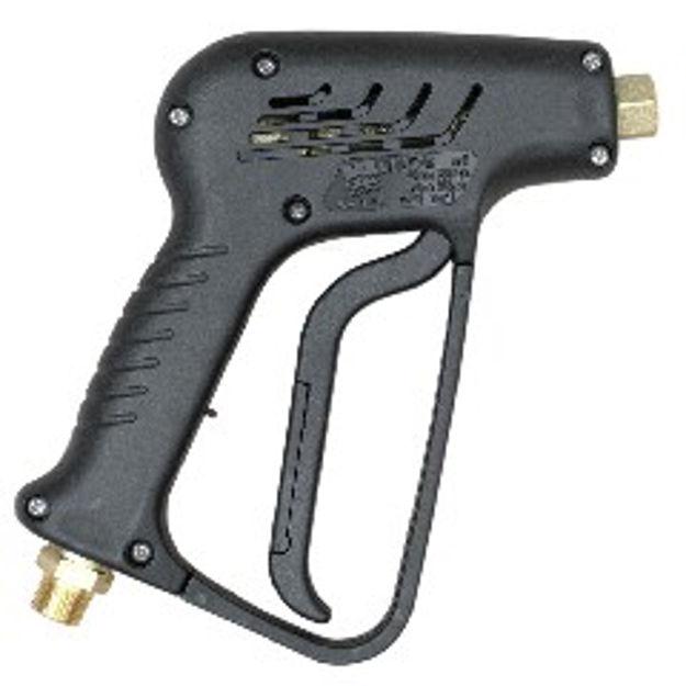 """Immagine di Pistola per lancia  idropulitrice  F.1/4"""" 300bar 3/8 M"""