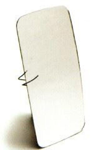 Vetro specchio retrovisore Man termico per coppa per Man fino al 1988 e Volvo con misure 366x175 mm