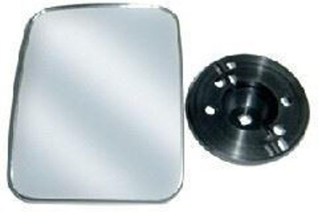 Vetro specchio grandangolare Man F2000 riscaldato sinistro e destro  203x145 mm
