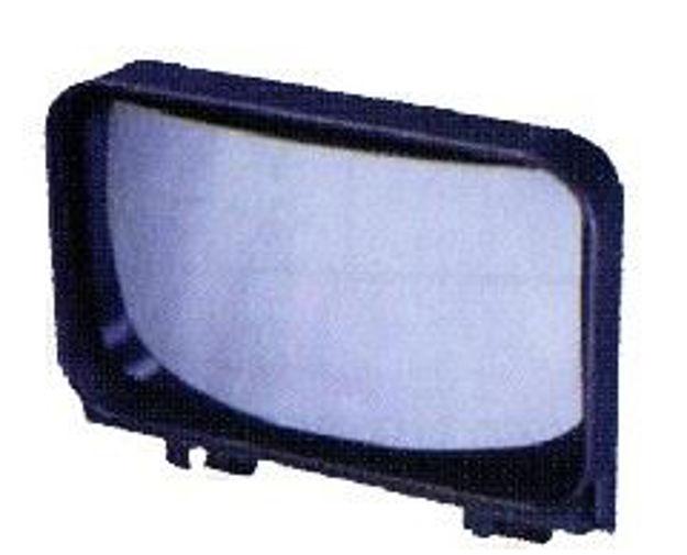 Vetro specchio con molla per guardaruota Iveco Eurostar