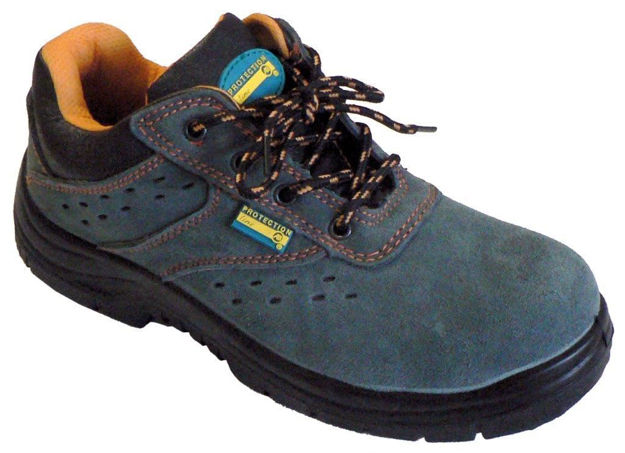 scarpa bassa antinfortunistica scamosciata