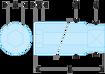 """Immagine di Bussole 1/2"""" lunghe esagonali metriche - S.HLA"""