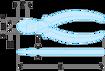 Immagine di Tronchesi diagonali - Prestazioni elevate   192.16G