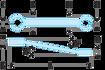 Immagine di Chiavi per raccordi inclinate a 15° | 42.11X13