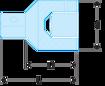 """Immagine di Riduttore 1"""" per bussole 3/4""""   M.230C"""