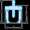 Immagine di Estrattori autoserranti per presa esterna griffe sottili | U.302