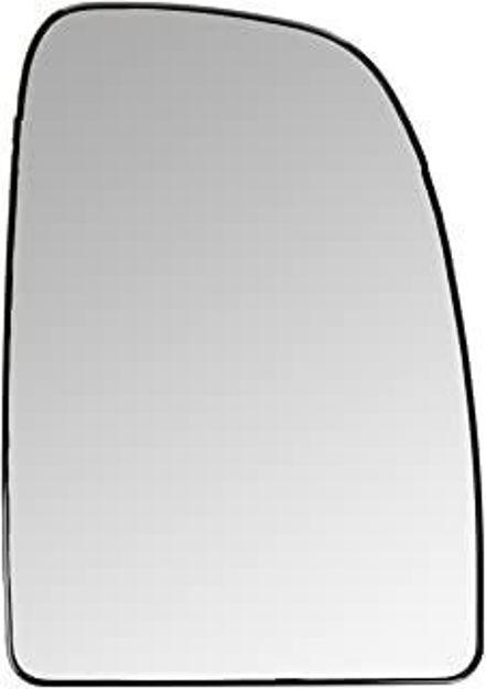 piastra vetro specchio superiore destra riscaldata per Ducato