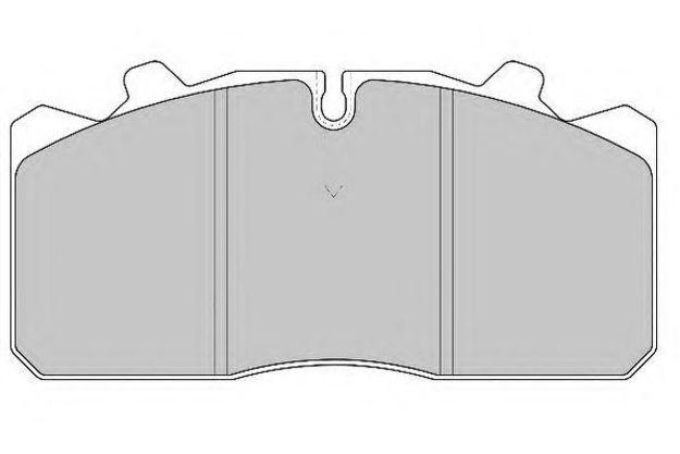 Pastiglie freno Iveco TECTOR 120
