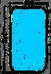 Vetro specchio con sbrinatore per coppa specchio Autocarri Iveco 190 TURBO-TURBOTECH-EUROCARGO Misure:mm.345x195
