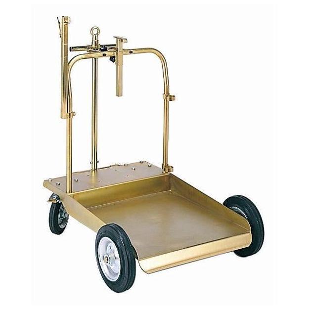 carrello fusto olio kg.180/200