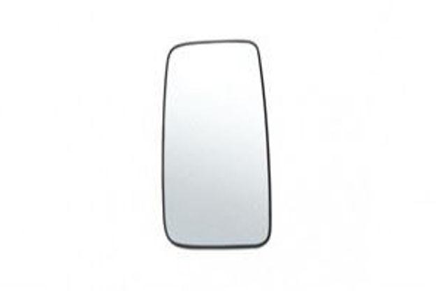 Immagine di Vetro specchio termico per autocarri IVECO mm.400x195