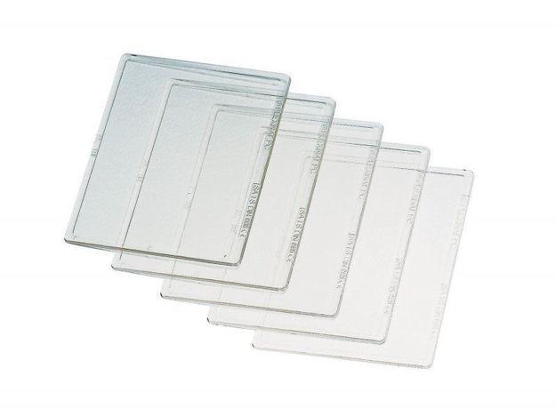 Vetro trasparente per schermi e caschi saldatura