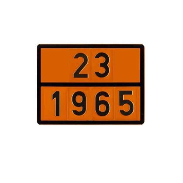 Pannello 23-1965 GPL-Butano Miscela liquefatta- Idrocarburi gassosi