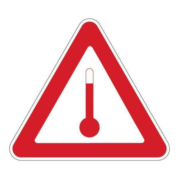 Etichetta per trasporto prodotti caldi