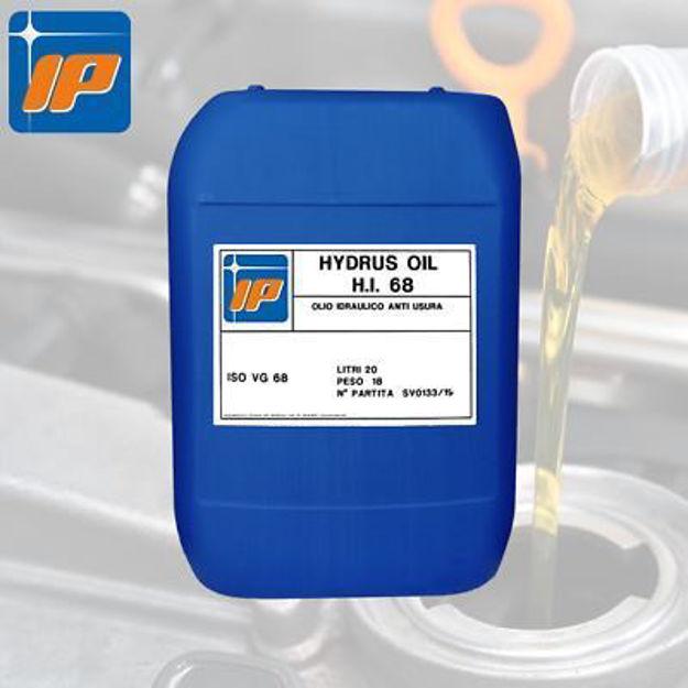 olio idraulico 68 lt 20