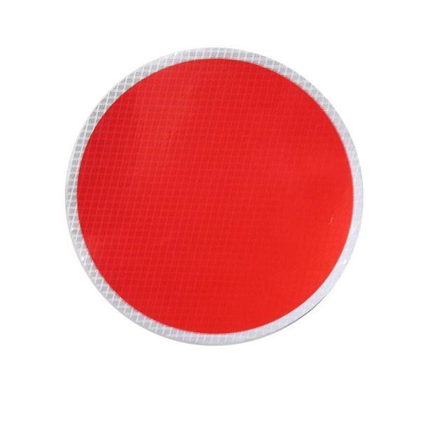 Disco rifrangente rosso