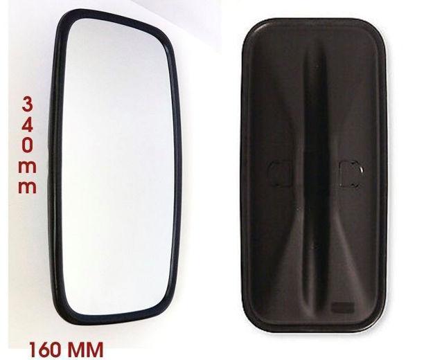 Coppa specchio per Iveco Eurocargo con misure 348x164