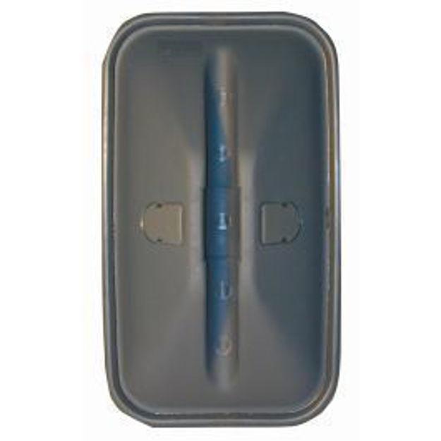 Coppa specchio Iveco vecchio tipo mm.440x209 FIAT 170-190/OM/EUROCARGO