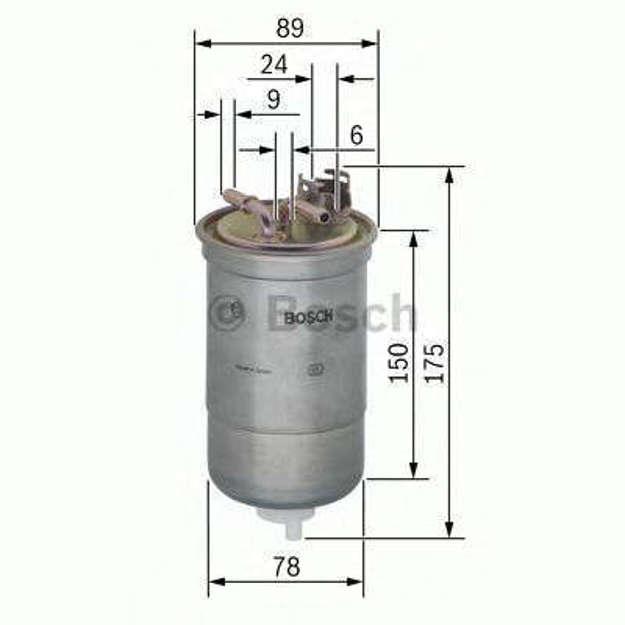 Filtro gasolio tecnocar RN67B